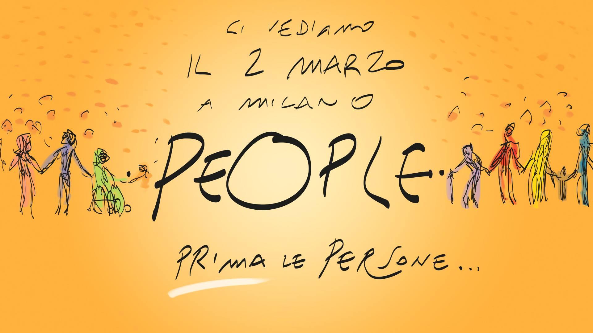 2 marzo - prima le persone