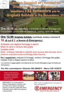 Grigliata Solidale Locandina 700x1000