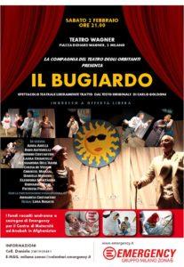 Locandina Evento Teatro Wagner 2 febbraio 2019