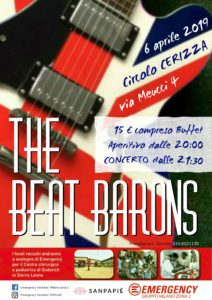 Cerizza - The Beat Barons 06.04.2019