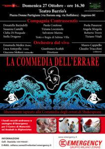 Evento Gruppo 6_Teatro Barrios27 ottobre_700x1000