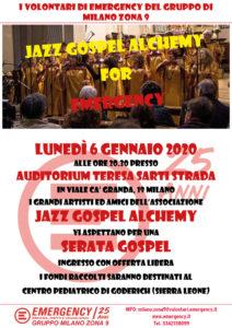 Jazz Gospel Alchemy for Emergency 06 01 2020_700x1000