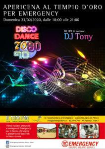Dance anni 80 IL TEMPIO 23.02.20_700x1000